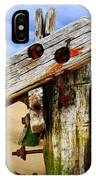 Wood Structure IPhone Case