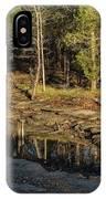 Wooded Backwash IPhone Case