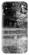 Wooded Pond IPhone Case