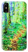 Wooded Trail IPhone Case