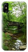 Wooded Valley Of The Patapsco River North Branch Maryland IPhone Case
