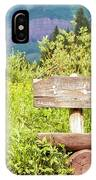 Wooden Bench IPhone Case