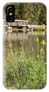 Wooden Bridge IPhone Case