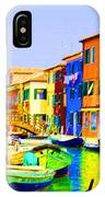 Wooden Bridge To Despar IPhone Case