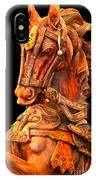Wooden Horse IPhone Case