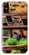 Wooden Shack IPhone Case