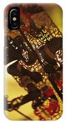 Wooden Shadow Puppets IPhone Case