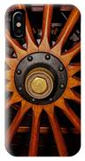 Wooden Spokes IPhone Case