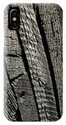 Wooden Water Wheel IPhone Case