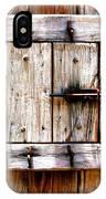 Wooden Window IPhone Case
