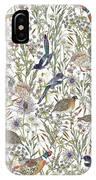Woodland Edge Birds IPhone Case