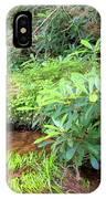 Woodland Stream Forest Interior IPhone Case