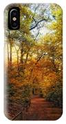 Woodland Trail IPhone Case