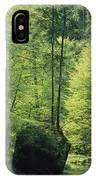 Woodland View With Stream, Sachsische IPhone Case