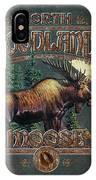 Woodlands Moose IPhone Case