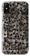 Woodpecker Holes In The Apple Tree IPhone Case