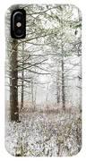 Woods In Winter At Retzer Nature Center  IPhone Case