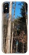 Woods In Winter IPhone Case