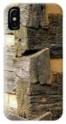 Woodwork IPhone Case