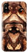 Woody 128a IPhone Case