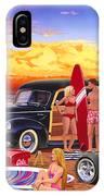 Woody Beach IPhone Case