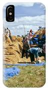 Workers Loading Rice IPhone Case