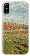 Working At Eragny 1886 Camille Pissarro IPhone Case
