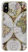 World Map, C1690 IPhone Case