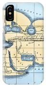 World Map: Eratosthenes IPhone Case