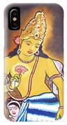 World Renowned Ajanta Painting  IPhone Case