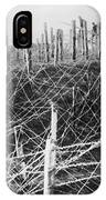 World War I Barbed Wire IPhone Case