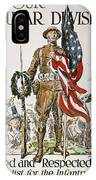 World War I: U.s. Army IPhone Case