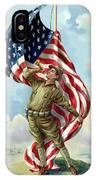 World War One Soldier IPhone Case