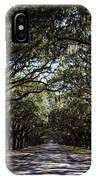 Wormsloe Avenue IPhone Case