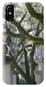 Wormsloe Welcome IPhone Case