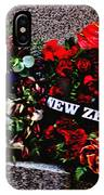 Wreaths From New Zealand And Our Navy IPhone Case