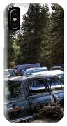 Wrecking Yard Study 22 IPhone Case