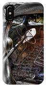 Wrecking Yard Study 5 IPhone Case