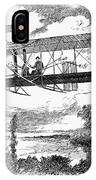 Wright Brothers Plane IPhone Case