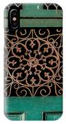 Wrought Iron Circle IPhone Case