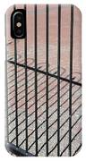 Wrought-iron Gate And Shadows IPhone Case