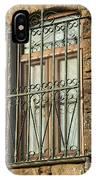 Wrought Iron - Glass - Stone IPhone Case