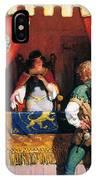 Wyeth: Robin Hood & Marian IPhone Case