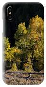 Wyoming Autumn Color One IPhone Case