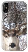 Wyoming Buck IPhone Case
