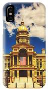 Wyoming State Capitol - Cheyenne IPhone Case