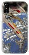 10105 X-wing Starfighter IPhone Case