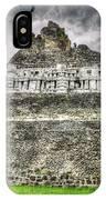 Xunantunich  El Castillo IPhone Case