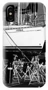 Yachts On Drydock IPhone Case
