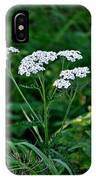 Yarrow Flowerheads IPhone Case